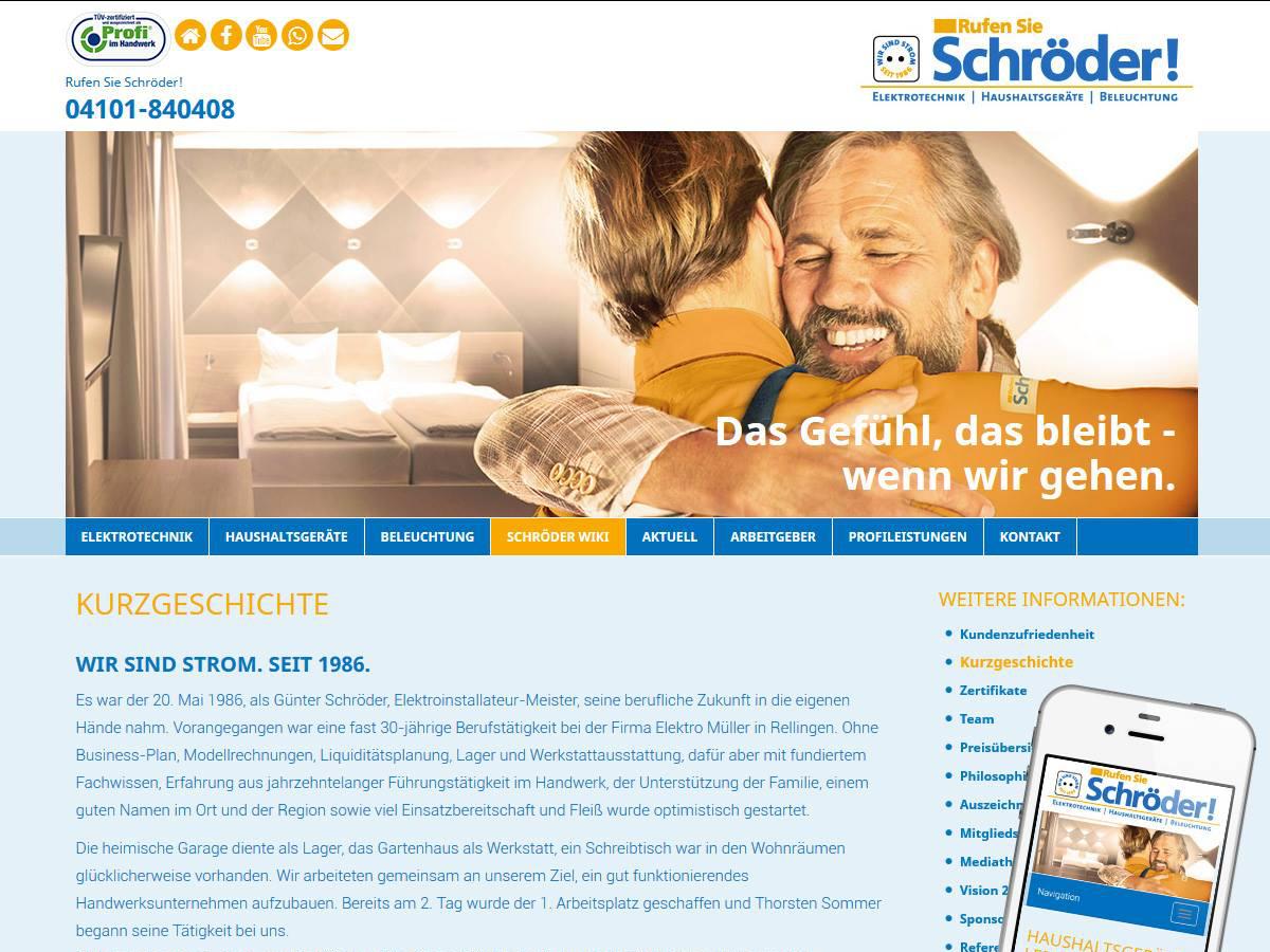 Rufen Sie Schröder