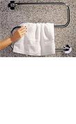 Handtuchtrockner von DEVI. Umhüllt von flauschiger Wärme.
